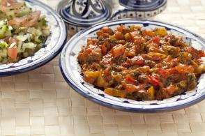salade marocaine aux poivrons